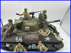116 RC Tank From The Movie Fury With Brad Pitt Figurine NO Computer Parts