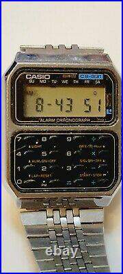 3 Casio Watches C-801, CS-831 & DBC-600 AS IS FOR PARTS OR NOT WORKING