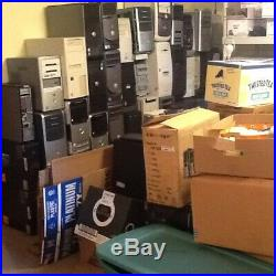A Lot Of Computers And Parts PICK UP ONLY