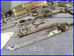 Antique The Computing Scale Co Style No 167 Nickel Plated Parts or Restore Only
