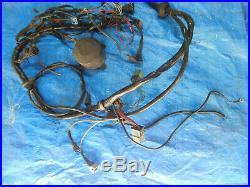 BMW E24 E28 535i Engine Wiring Harness with Computer Parts 1705619, 1288246