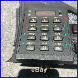 Bmw E28 Dashboard Computer-trim-switches Part Number 658113701269