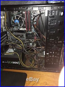 Computer Parts Bundle, WORKING PC Minus Graphics Card, ssd