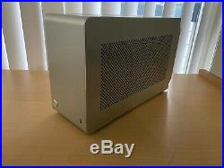 DAN A4-SFX V4 Mini ITX Computer Case Silver Used (PC Parts Not Included)