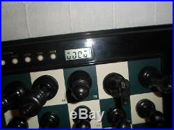 Excalibur GRANDMASTER Electronic Chess Computer 747K For Parts Not Working Look