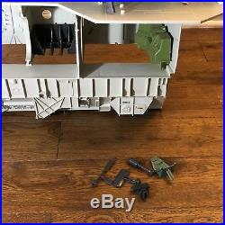 GIJoe USS Flagg 1985 Parts Lot Of 39 Superstructure, Antennas, Computers & more