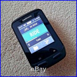 Garmin Edge 510 GPS Cycling Computer with Parts, Charger Etc. Excellent