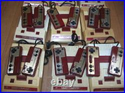 LOT of 6 Junk Famicom Console body only Parts Untested family computer Nintendo