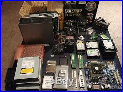 Large Lot of Computer Parts! Hard Drives, Laptop Chargers, RAM and More