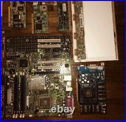 Lot Of Miscellaneous Computer Parts - Sold as is - Gold Recovery - 21 pieces