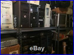 Lot of 70+ Computers and Printers Working and Parts Needed for Repair