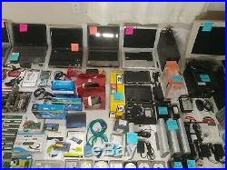 Lot of Computers Laptops Towers Screens Accessories Parts Cables HDD EVERYTHING