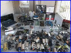 PC COMPUTER PARTS BUNDLE MOBOs CPUs GRAPHIC CARDs MODEMs WIFI PCUs RAM CABLES +