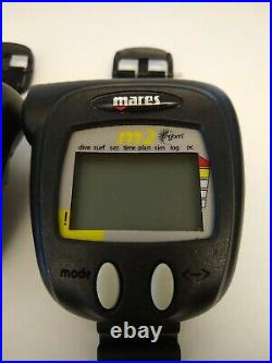 Pair of Mares M2 rgbm Dive Computer untested parts only