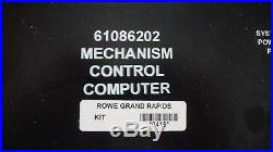 Rowe, ami mech cd 100 juke box computer for cdm12 or cd pro part number 6108620