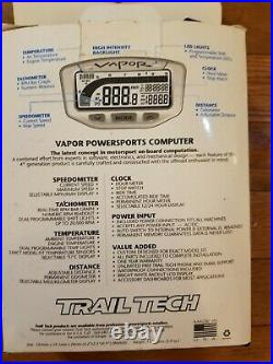 Trail Tech Vapor Computer Kit Stealth Part# 752-300 Barely Used