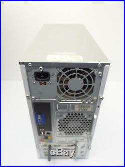 Used Broken Dell Inspiron 530 Silver Colored Desktop Computer Tower Parts