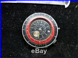Vintage Calculator Bezel Chateau Telemeter Date Watch For You To Fix Or Parts