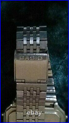 Vintage Casio 246 CD-401 for Repair Or Parts Calculator Watch Casio Data Bank